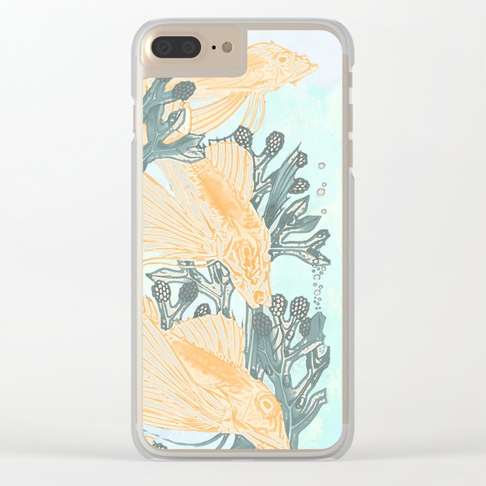 Crazy not to follow Clear iPhone Case
