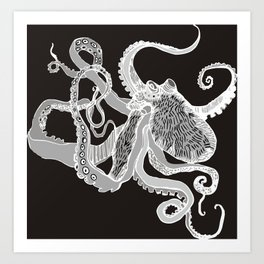Octopus for mom 2 edition Art Print