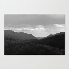 Open Valley Canvas Print
