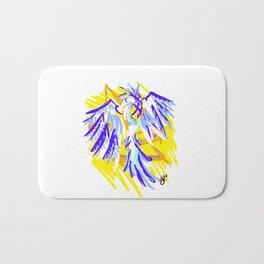 Blue Phoenix Bath Mat