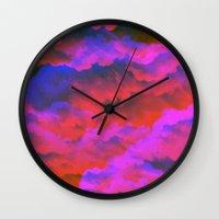 moss Wall Clocks featuring Moss by Tyler Spangler