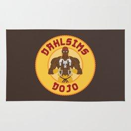 Dhalsim's Dojo Rug