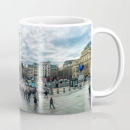 London Trafalgar Square Panorama Coffee Mug