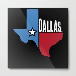 Dallas Texas Metal Print
