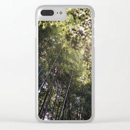 Bamboo Grove of Arashiyama // Kyoto Clear iPhone Case