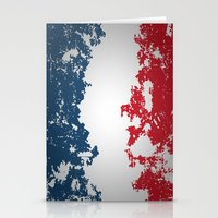 france Stationery Cards featuring France by Flat Design