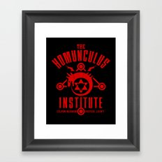 The Sins of the Father Framed Art Print