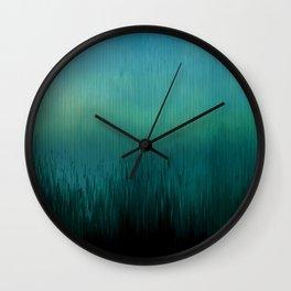 Planet Pixel Earth Wall Clock