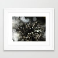 spires Framed Art Prints featuring Silver Spires by pixelanche