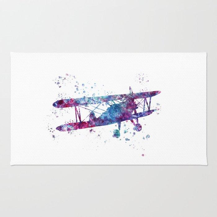 Little Plane Rug