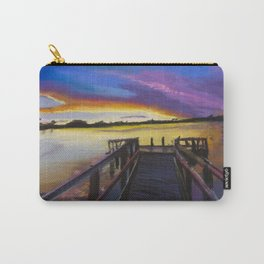 Shelley Bridge Sunset Carry-All Pouch