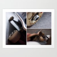 skate Art Prints featuring Skate by TJAguilar Photos