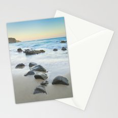 Magic beach. Volcanic sea. Stationery Cards
