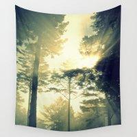 elk Wall Tapestries featuring Elk Trees by Louisa Corbett