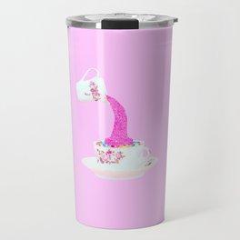 Glitter Tea Party Travel Mug