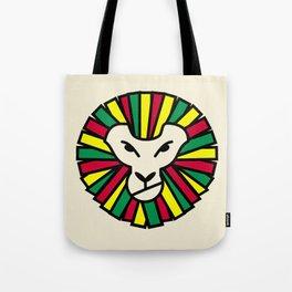 Lion Rastafari Tote Bag