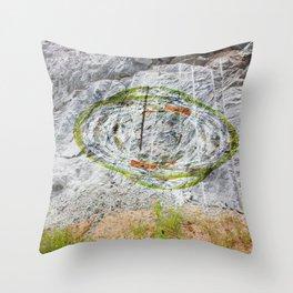 Petroglyph Throw Pillow