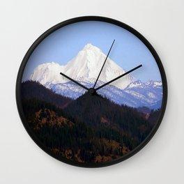 Mount Lassen... Wall Clock