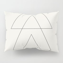 Minimal Geometric Art 03 Pillow Sham