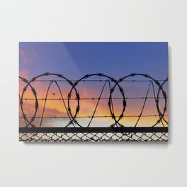 Freedom and Security. Metal Print