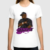 chad wys T-shirts featuring Chad 'Pimp C' Butler by Chad Trutt
