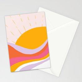 laurel canyon sunrise Stationery Cards