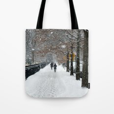 New York in Winter Tote Bag