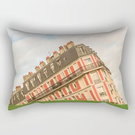 Montmartre Building - Paris Rectangular Pillow