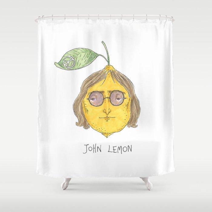 John Lemon Shower Curtain