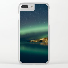 The northern Lights Clear iPhone Case