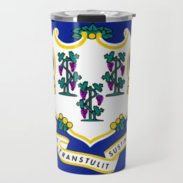 State Flag of Connecticut Travel Mug