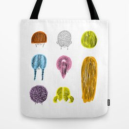 Hairstyle Tote Bag