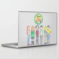 daria Laptop & iPad Skins featuring Daria and Friends by Monique Cutajar