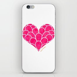 Pink Heart iPhone Skin
