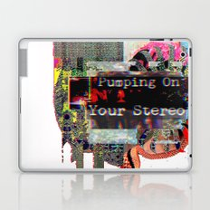 Pumping On Your Stereo Laptop & iPad Skin