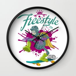 Freestyle Wall Clock