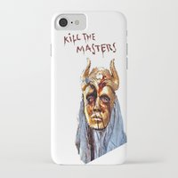 khaleesi iPhone & iPod Cases featuring KILL THE MASTERS by rowans