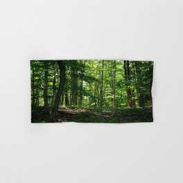 Pine tree woods Hand & Bath Towel