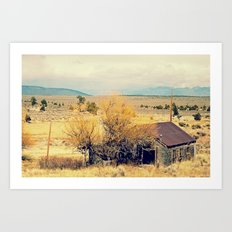 Leaving New Mexico Art Print