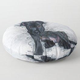Staffordshire Bull Terrier Floor Pillow