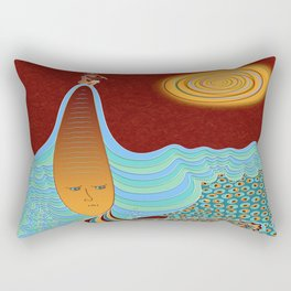 The Young Man And The Sea Rectangular Pillow