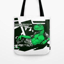 Amphibian DNA - Dienonychus Tote Bag