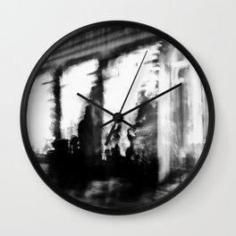 Lund In Motion 2 Wall Clock