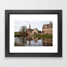 The old mill house Framed Art Print