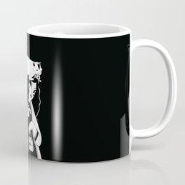 Cola enroscada en el dedo Coffee Mug