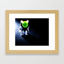 Robot Monster Framed Art Print