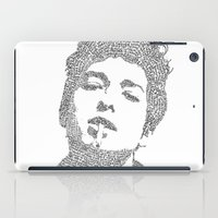 dylan iPad Cases featuring Bob Dylan by S. L. Fina