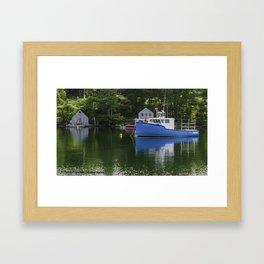 Hackett's Cove Framed Art Print