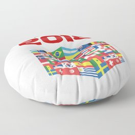 Russia - FIFA World CUP 2018 - Model 1 Floor Pillow