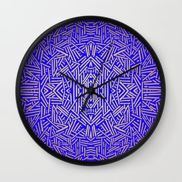 Radiate (Yellow/Ochre Royal) Wall Clock